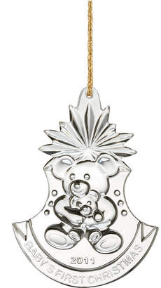 Marquis by Waterford Christmas Ornament, 2011 Annual Baby's First Christmas
