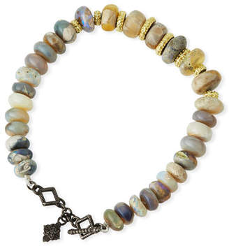 Armenta Old World Boulder Opal Beaded Bracelet