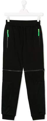 Stella McCartney TEEN zipped sweatpants