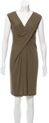 Donna Karan Knee-Length Draped Dress