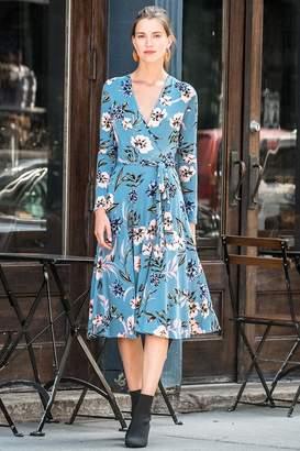 Yumi Kim Around Town Midi Jersey Dress