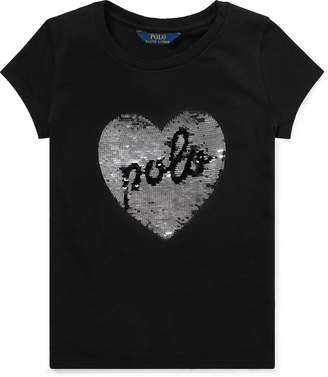 Ralph Lauren Sequined Graphic T-Shirt