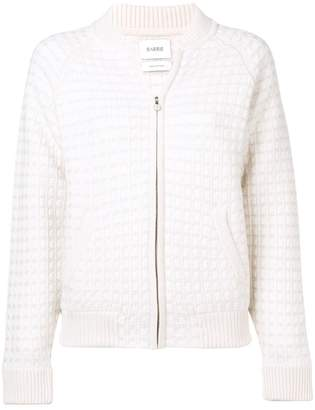 Barrie cashmere waffle-effect cardigan