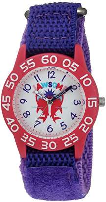 EWatchFactory Girl's 'Shark Week' Quartz Plastic and Nylon Sport Watch