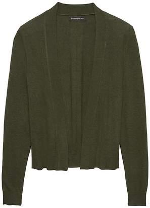 Banana Republic Cropped Open Cardigan Sweater