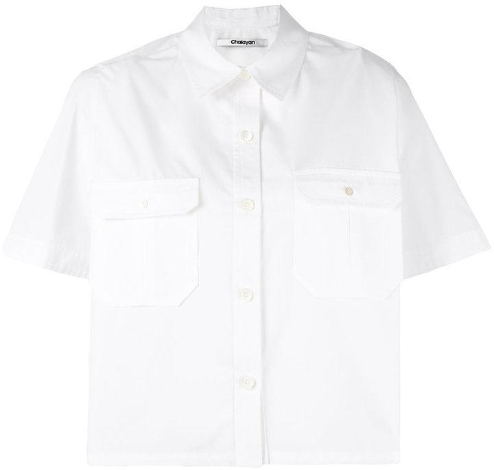 ChalayanChalayan Cape Shirt