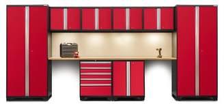 NewAge Products Pro 3.0 Series 10 Piece Garage Storage Cabinet Set with Worktop