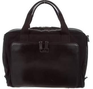 Gucci Guccissima-Trimmed Nylon Briefcase 544921af3dfc8