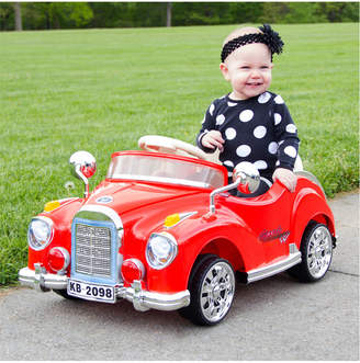 Trademark Lil' Rider Cruisin' Coupe Battery Operated Classic Car