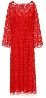 Gucci Lace midi dress