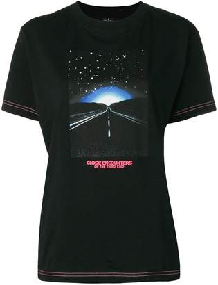 Marcelo Burlon County of Milan contrast printed t-shirt