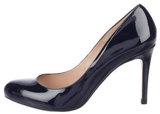 LK Bennett Patent Leather Round-Toe Pumps