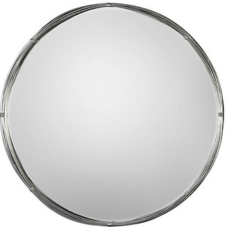 One Kings Lane Ohmer Wall Mirror - Antiqued Silver Leaf