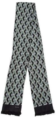 Gucci Geometric Silk Stole