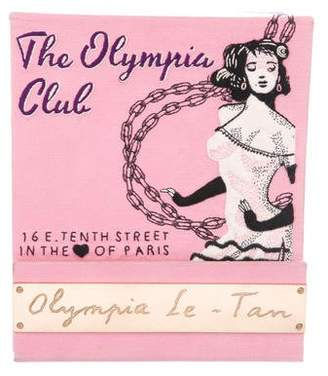 Olympia Le-Tan Cub Olympia Matchbook Clutch