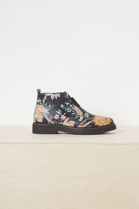 Fcus Nasima Chunky Sole Printed Ankle Boots