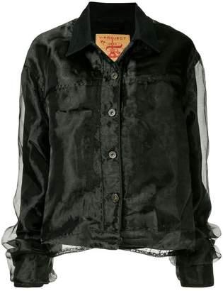 Y/Project Y / Project organza denim jacket