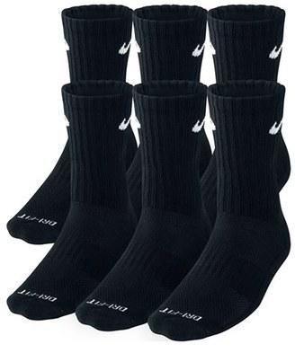 Men's Nike Dri-Fit Crew Socks $22 thestylecure.com
