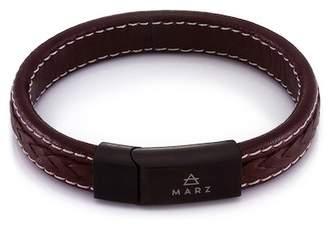 März The Brown Tone Leather Bracelet