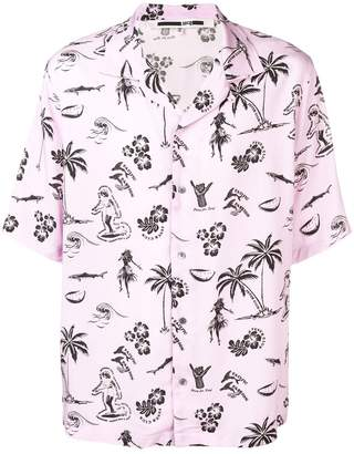 McQ printed shortsleeved shirt