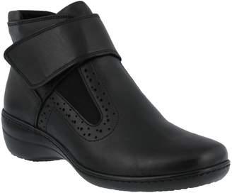 Spring Step Leather Booties - Katri