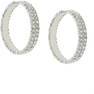 Magda Butrym large embellished hoop earrings