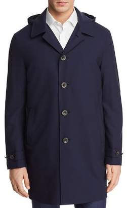 Canali Impeccabile Detachable Hood Raincoat