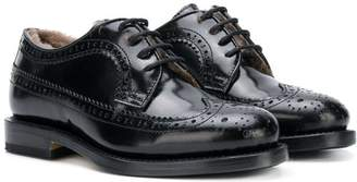 Gallucci Kids lace-up brogues