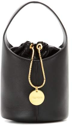 Tom Ford Miranda Micro leather bucket bag