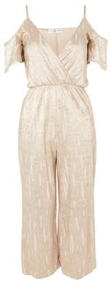 Rare **Cold Shoulder Culottes Jumpsuit