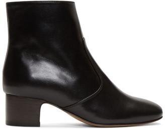 A.P.C. Black Joey Heeled Boots