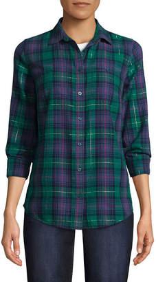ST. JOHN'S BAY Two Pocket Shirt - Tall