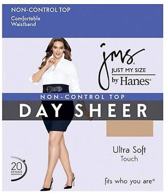 Just My Size JMS Regular, Reinforced Toe Pantyhose 4-Pack