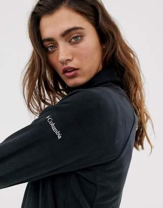 Columbia Glacial IV Half Zip Fleece in Black