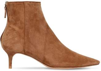 Alexandre Birman 50mm Kittie Suede Ankle Boots