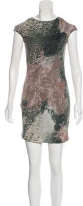 Yigal Azrouel Cut25 by Sleeveless Cut-Out Mini Dress