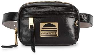 Marc Jacobs Sport Black Leather Belt Bag