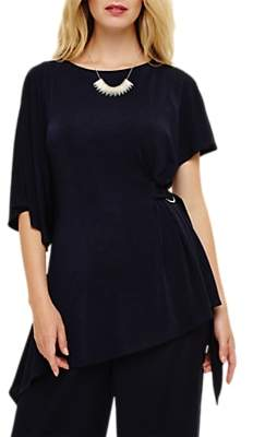 Phase Eight Torrie Tunic Top, Navy