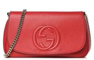 Gucci Soho Crossbody Chain Strap Medium Red