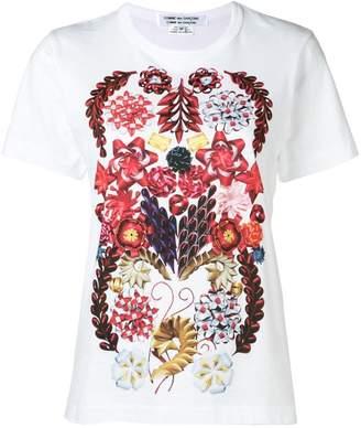 Comme des Garcons floral print short-sleeve T-shirt