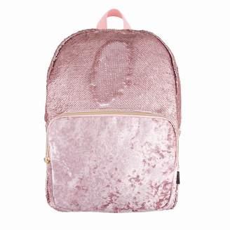 553a9d447007 Fashion Angels Magic Sequin Backpack Velvet Pocket Pink Glitter