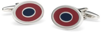 Brooks Brothers Two-Color Oval Cuff Links