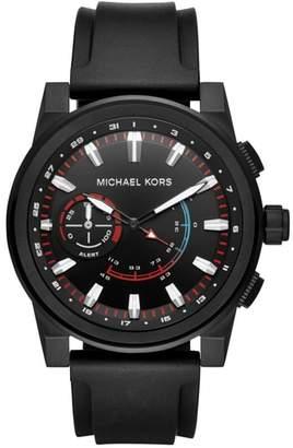Michael Kors Grayson Hybrid Silicone Strap Smart Watch, 47mm