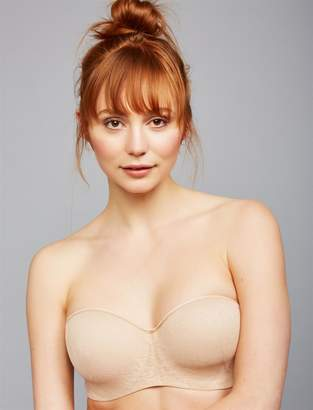 A Pea in the Pod Natori Private Luxuries Strapless Maternity Bra- Nude
