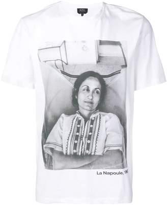 A.P.C. (アー ペー セー) - A.P.C. La Napoule プリント Tシャツ