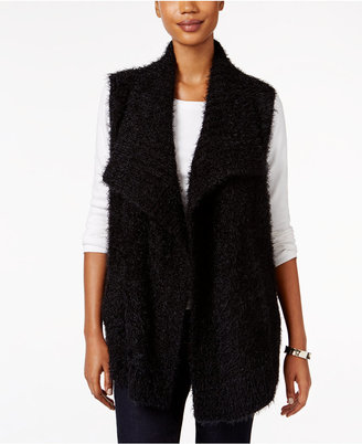 Style & Co. Eyelash Sweater Vest, Only at Macy's $49.50 thestylecure.com