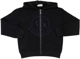 Moncler Embroidered Logo Sweatshirt Hoodie