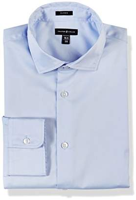 Crafted Collar Men's Classic Fit Spread Collar Business Shirt