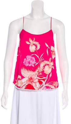 Matthew Williamson Floral Sleeveless Top w/ Tags