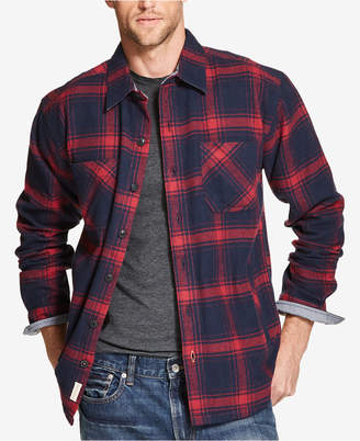 f13e83f6962 Weatherproof Vintage Mens Plaid Flannel Shirt Jacket